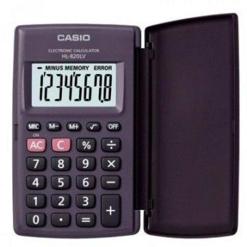 Калькулятор Casio HL820LV 102х62мм 8 разр