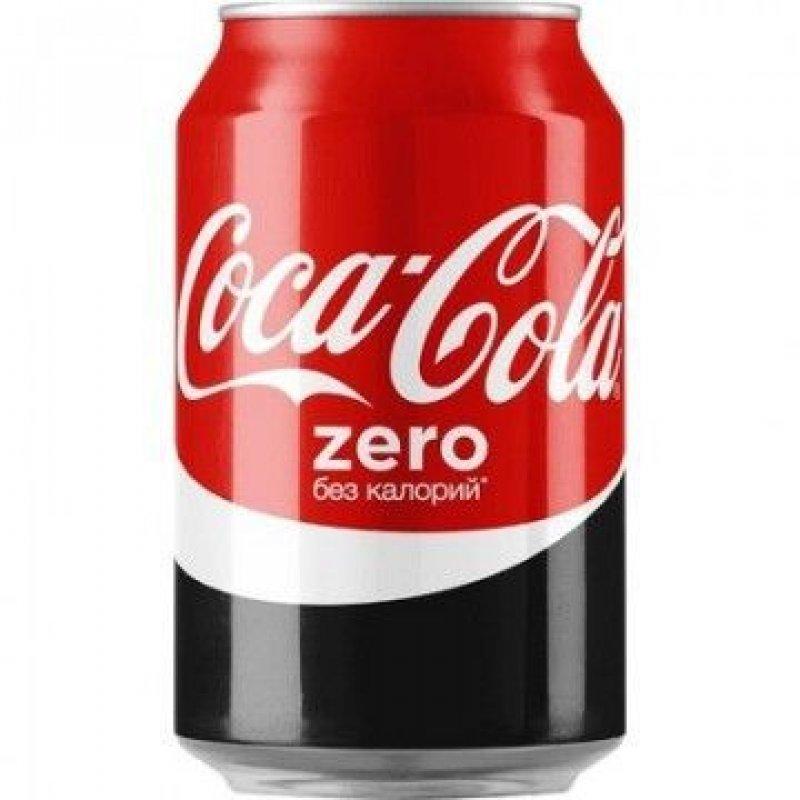 Напиток Кока-кола 0,33л жб