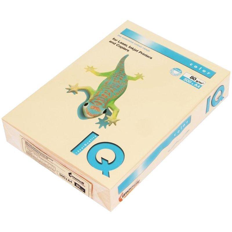 Бумага IQ/Maestro Color А4 80г/м2 500л персиковая