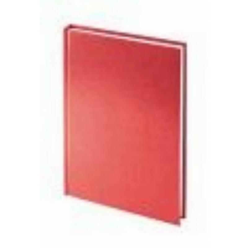 Ежедневник А5 недат Ideal New красный