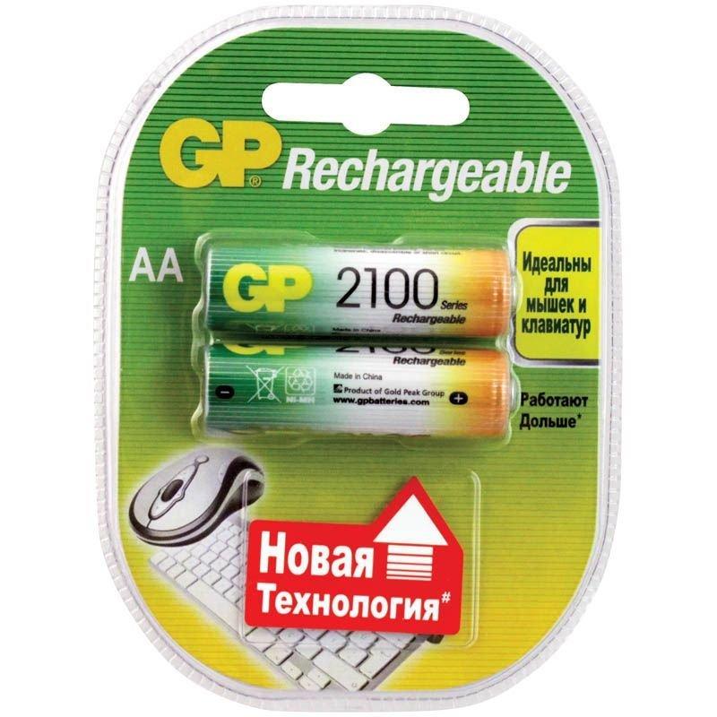 Аккумуляторная батарея Golden Power AA HR06 2100мАч