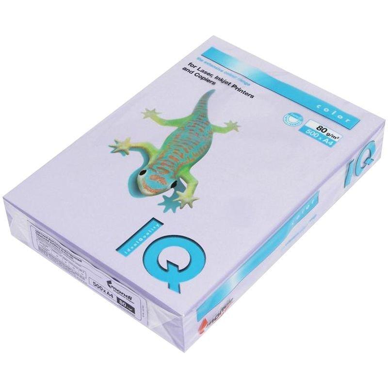 Бумага IQ/Maestro Color А4 80г/м2 500л бледно-лиловый