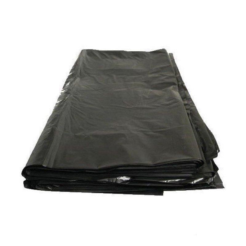 Мешки для мусора 240л 90х140см 60мкм 1шт черные ПВД