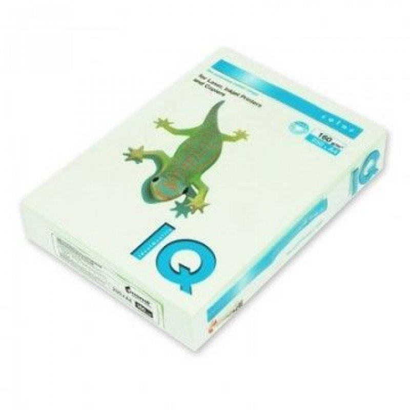 Бумага IQ/Color А4 160г/м2 250л светло-зелёный