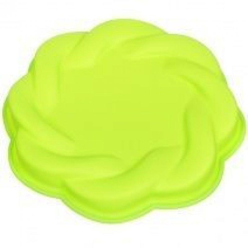 Форма для выпечки Ажурный круг силикон