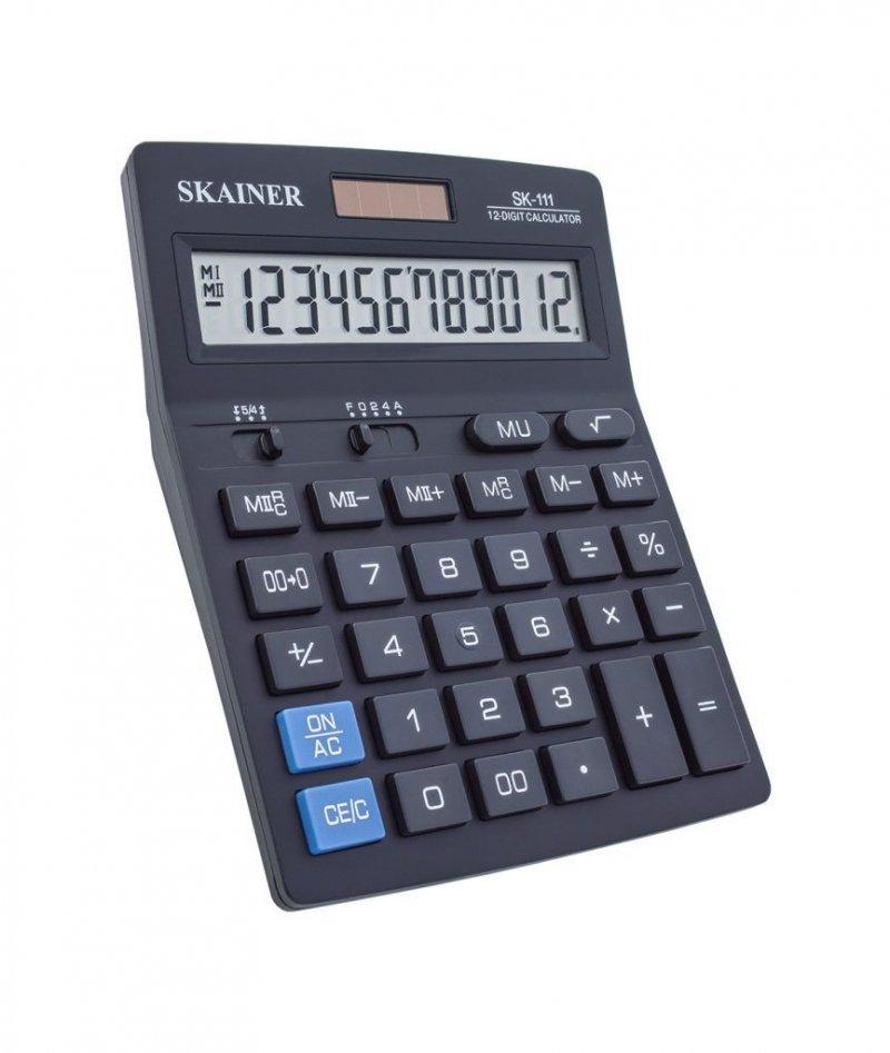 Калькулятор Skainer Electronic SK-111 140х176мм 12 разр