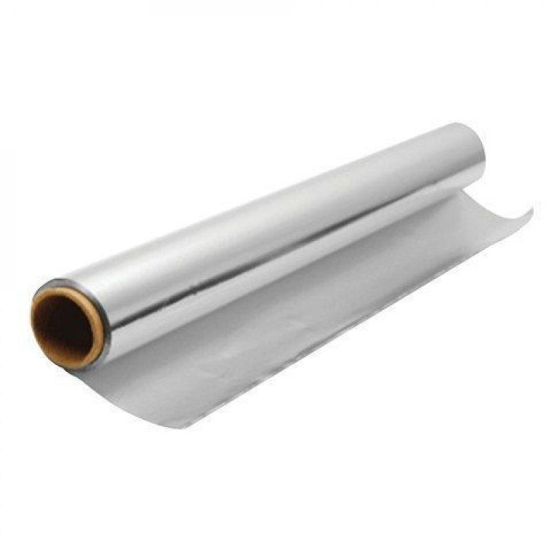 Фольга пищевая 30смх10м 9мкм алюмин
