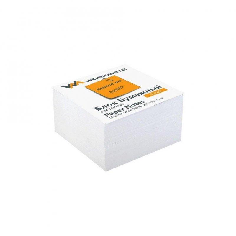 Блок для записей 80x80x80мм Workmate Эко типографская бумага запасной