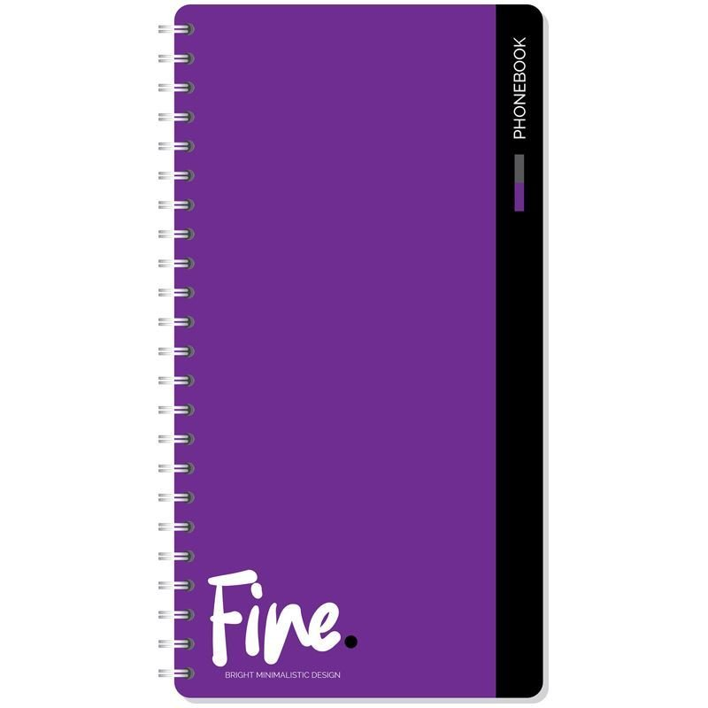 Телефонная книга А5 OfficeSpace 80л Офис Monocolor