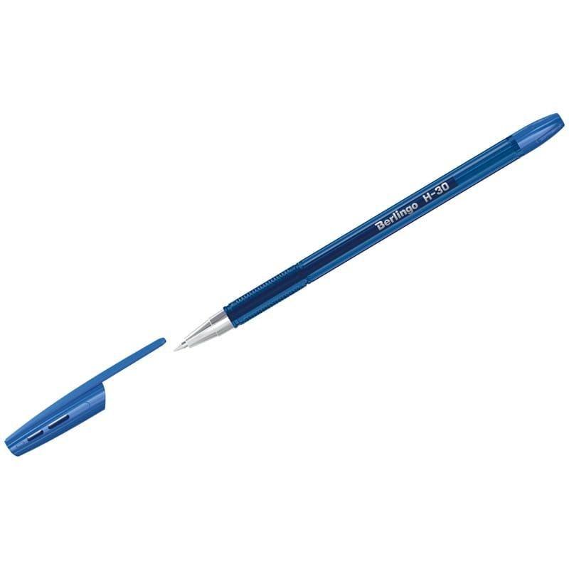 Ручка шариковая Berlingo H-30 0,7мм рельефный держатель масляная синяя