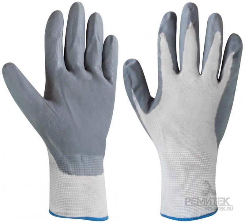 Перчатки х/б нитриловые облегченные