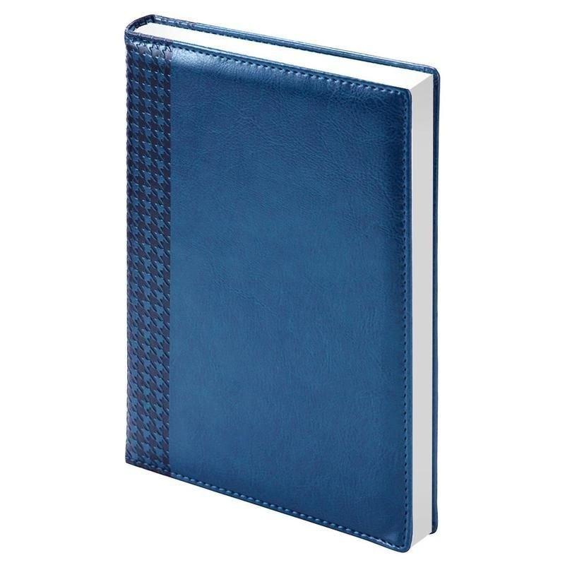 Ежедневник А5 недат Lozanna синий