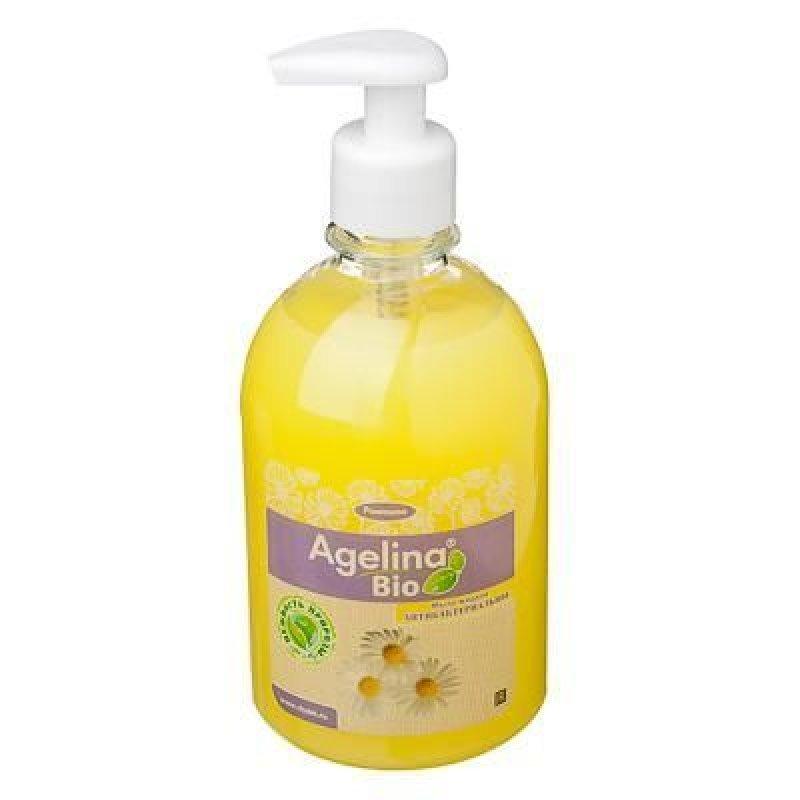Мыло жидкое 300мл Агелина Био антибактериальное ассорти