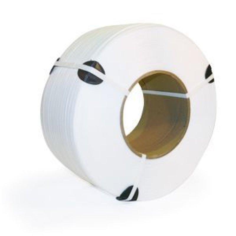 Лента упаковочная 12х0,6мм 3000м полипропиленовая белая