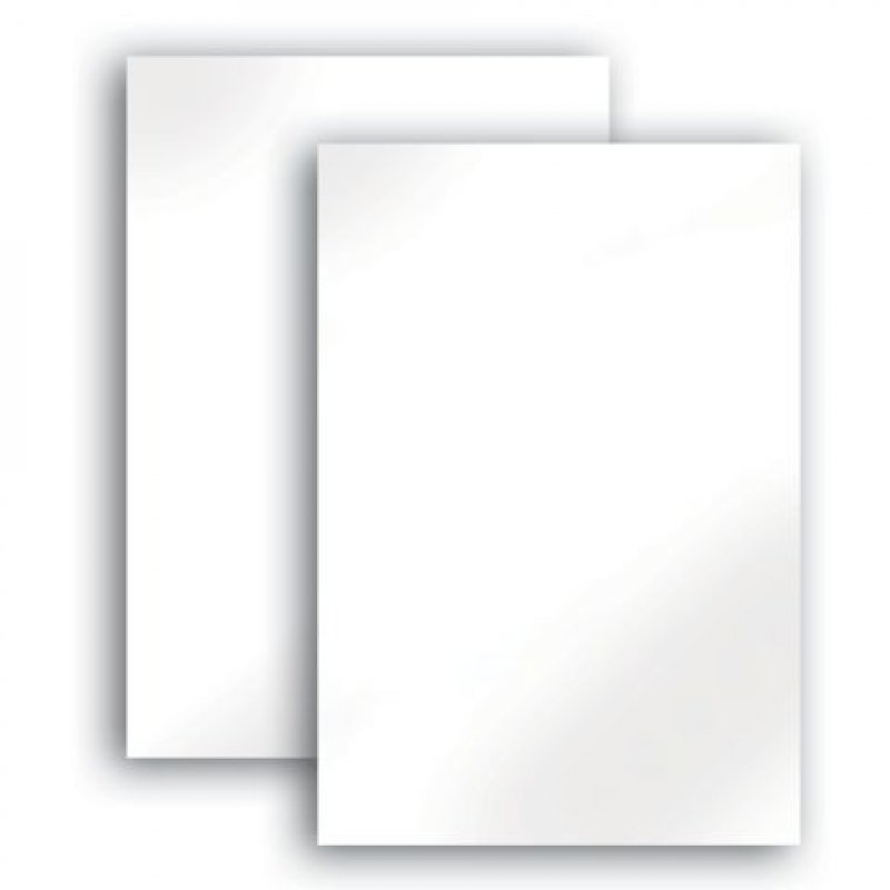 Картон белый А4 25л