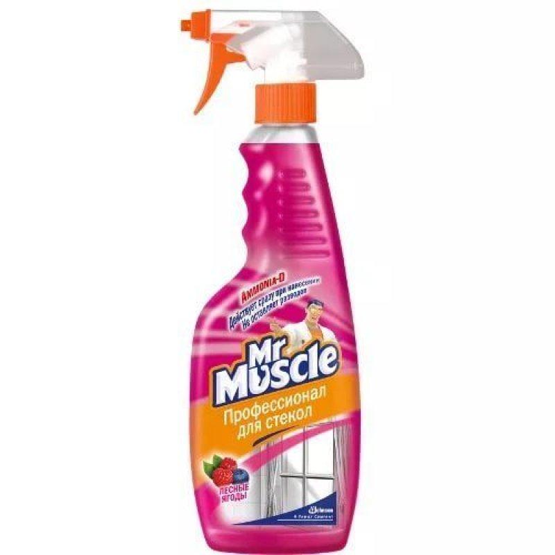 Средство для мытья стекол 500мл Мистер Мускул Утренняя роса курок