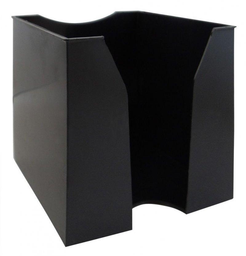 Бокс для бумаги 90х90х90мм Workmate черный