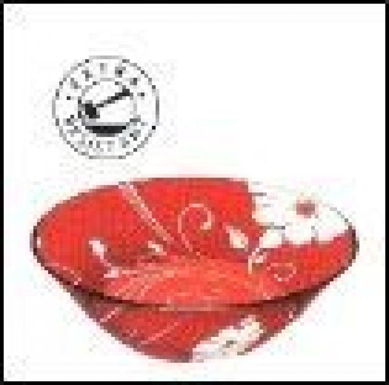 Салатник 140мм Serenade Red Pasabahce стекло