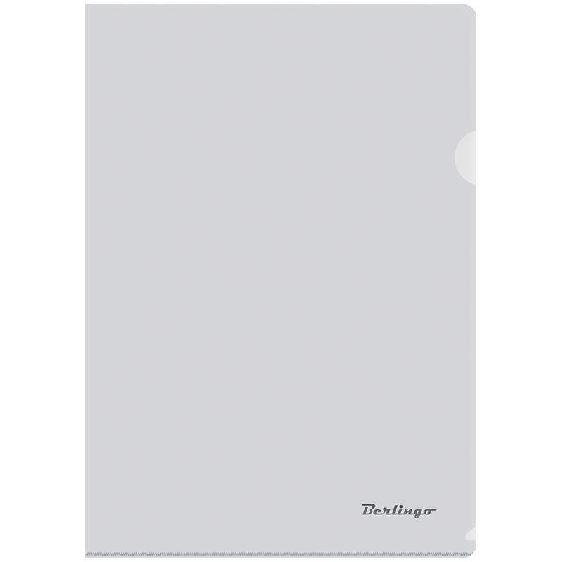 Папка-угол (карман) Berlingo 0,18мм прозрачная бесцветная