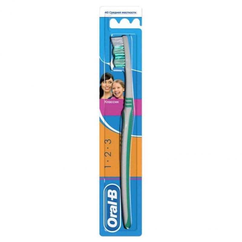 Зубная щетка Орал-Би Классик 40 мед