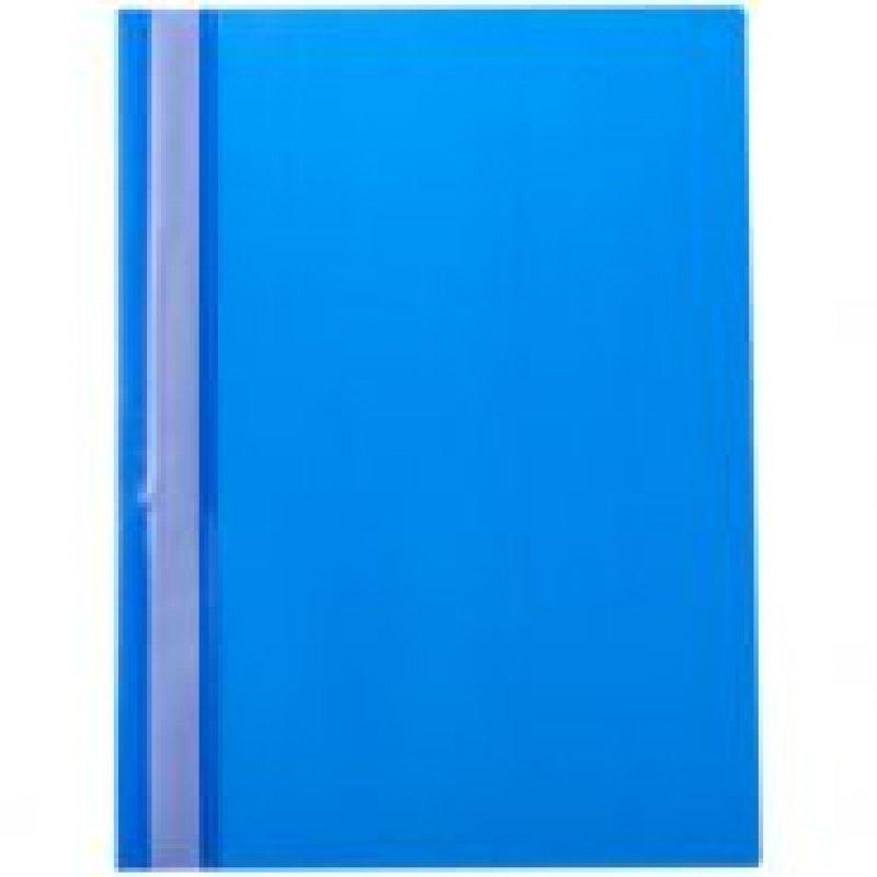 Папка с прозрачным верхним листом OfficeSpace 160мкм синяя