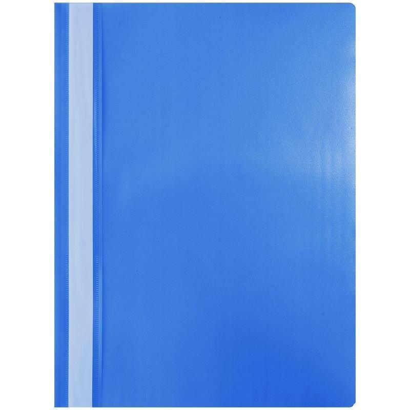 Папка с прозрачным верхним листом OfficeSpace 120мкм синяя