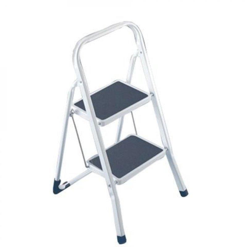 Лестница-стремянка Arno 46см 2 прорезиненные ступени стальная вес 3,95кг