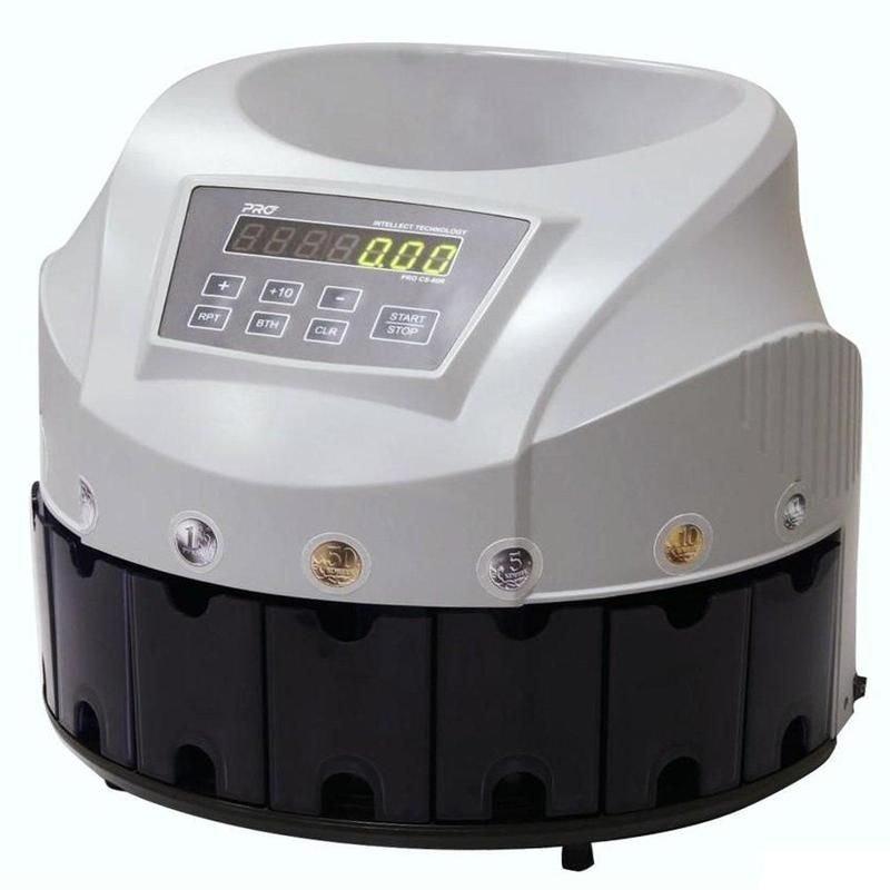 Счетчик монет Pro CS 80R 300 монет/мин вместимость 1600 монет