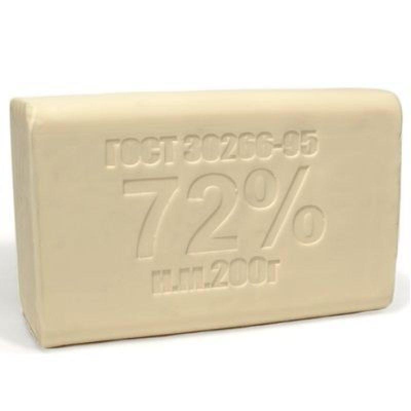 Мыло хозяйственное 200гр 72% ЭКСТРА белое ММЗ