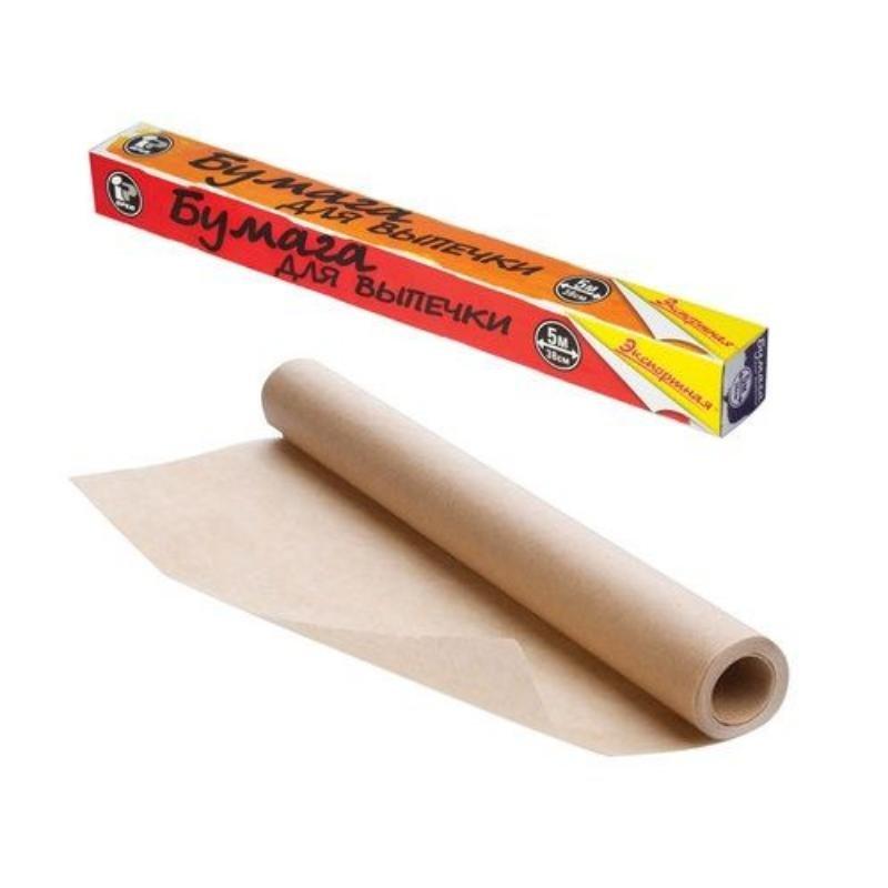 Бумага для выпечки 30смх6м жиростойкая короб