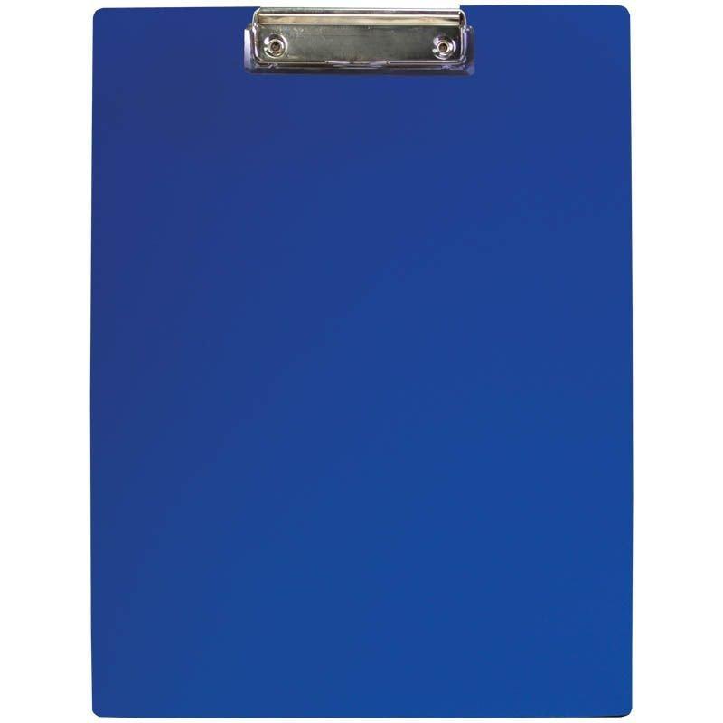 Папка-планшет c зажимом А4 OfficeSpace пластик синий