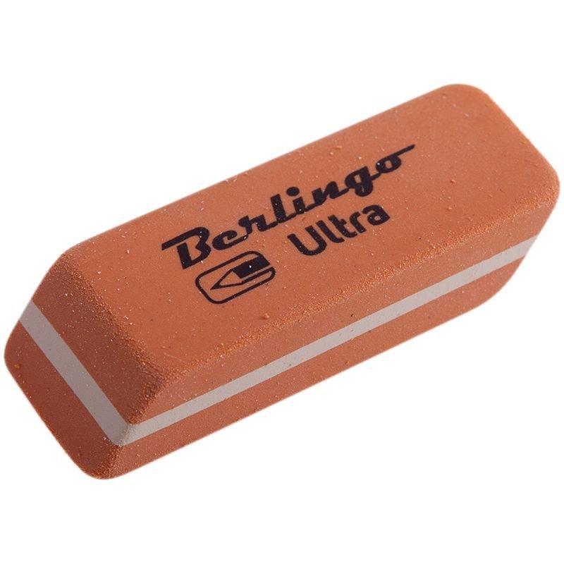 Ластик Berlingo Ultra 42х14х8мм прямоугольный натуральный каучук