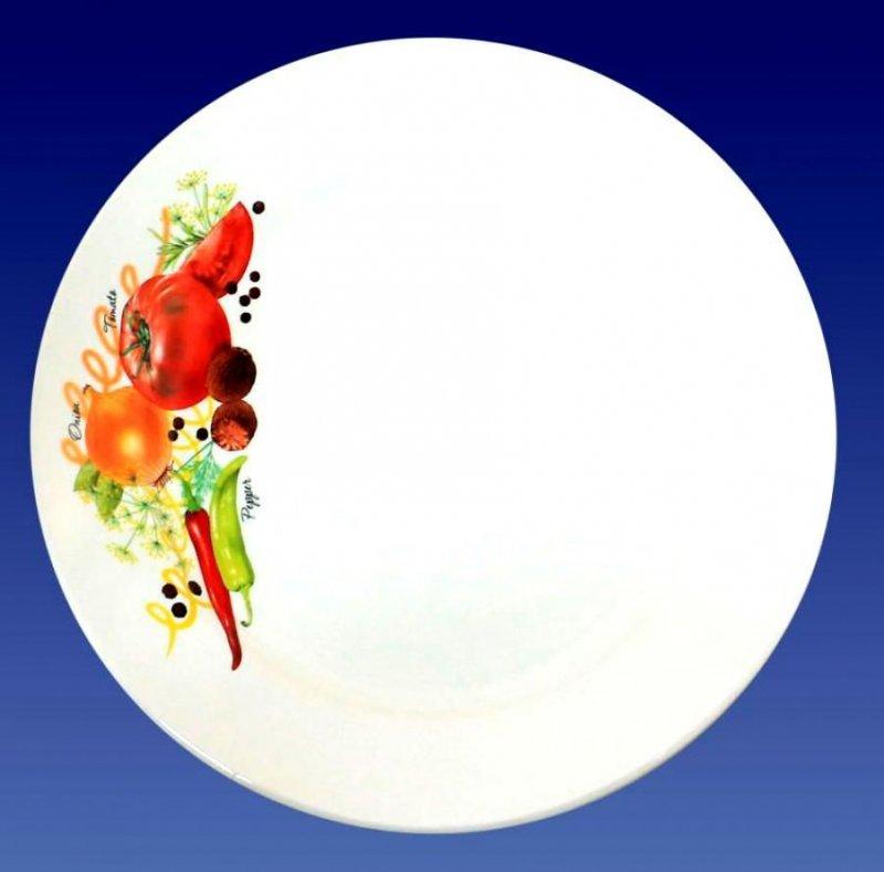 Тарелка 200мм Урожай мелкая фаянс