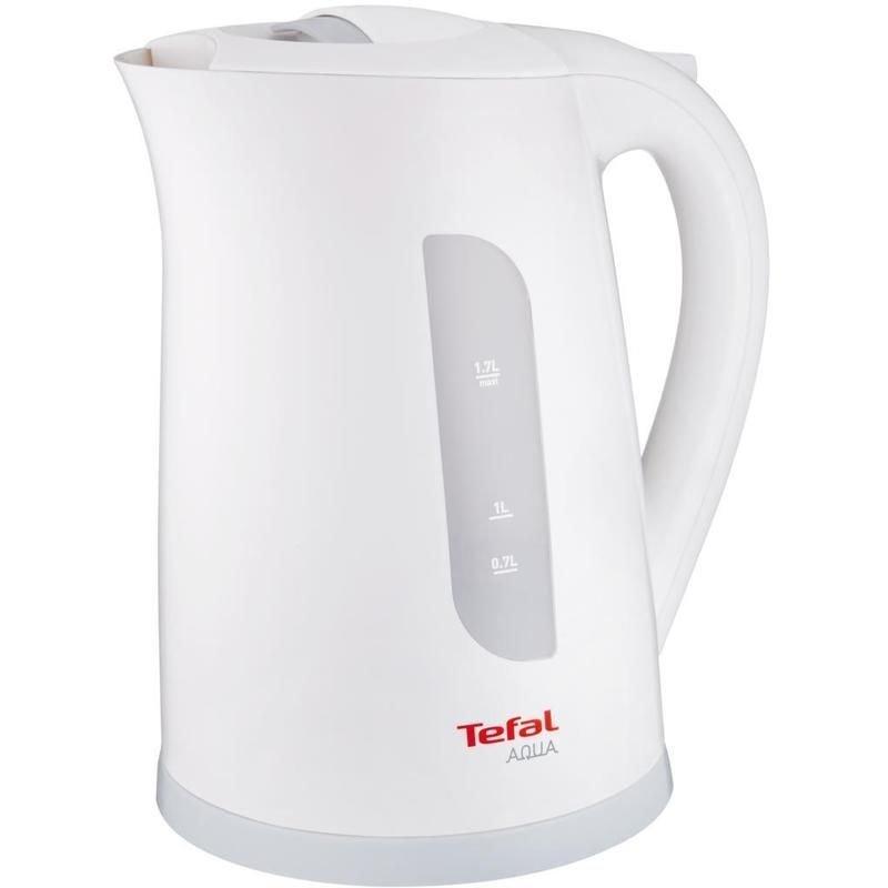 Чайник Tefal KO2701 Aqua 2400Вт 1.7л пластик белый