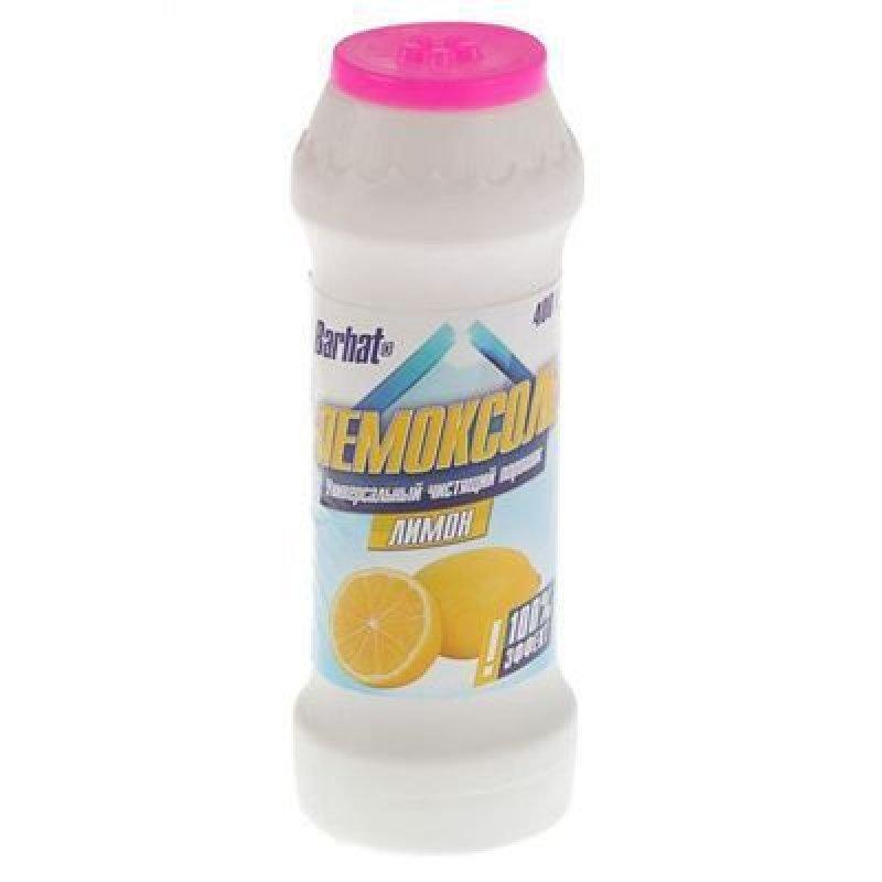 Чистящее средство Бархат Пемоксоль 400г лимон