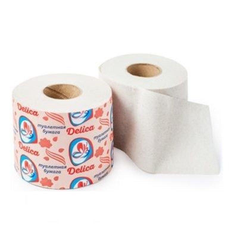 Бумага туалетная Делика с втулкой 56