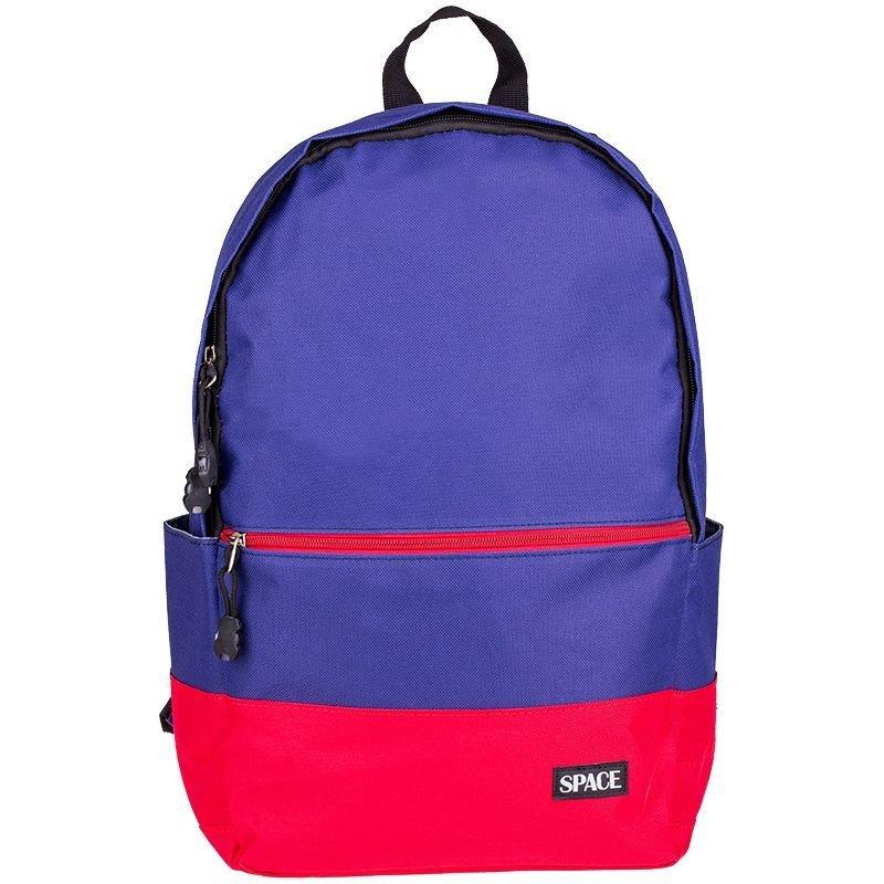Рюкзак школьный мягкая спинка c отражателями 7