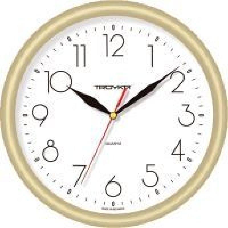 Часы настенные В-Тройка 21271212 круг белые 245мм