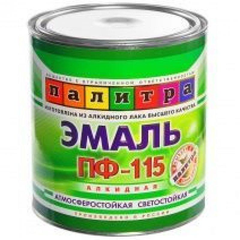 Эмаль ПФ 115 Русские узоры черная 2,7кг