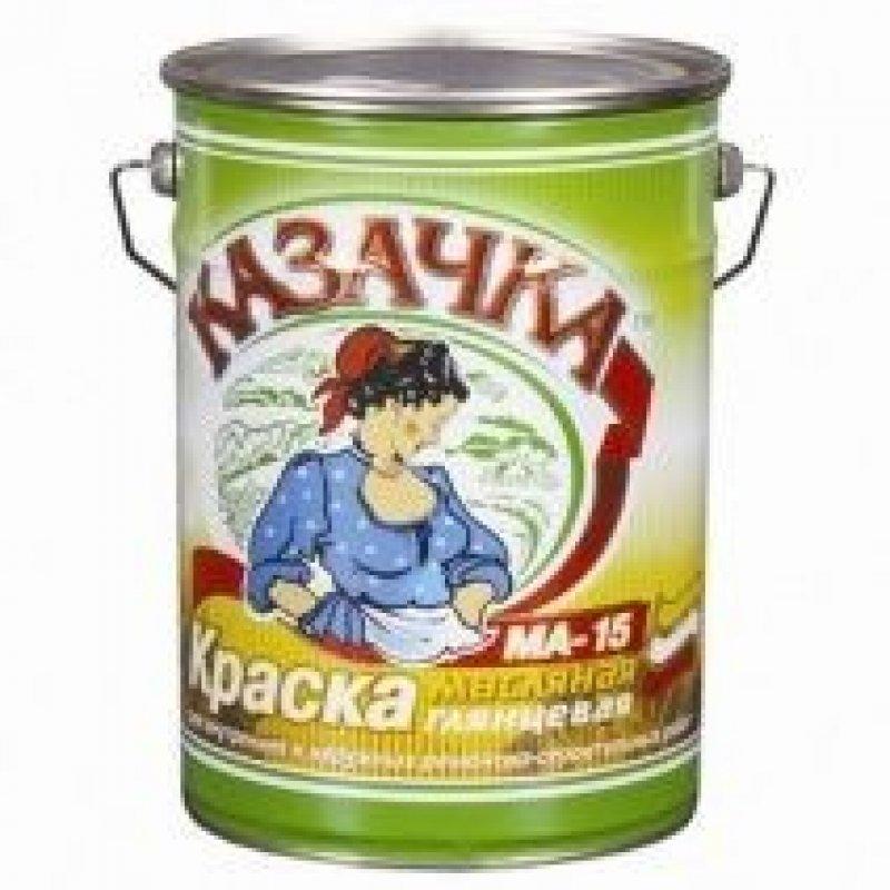 Краска масляная МА 15 Казачка сурик 10 кг