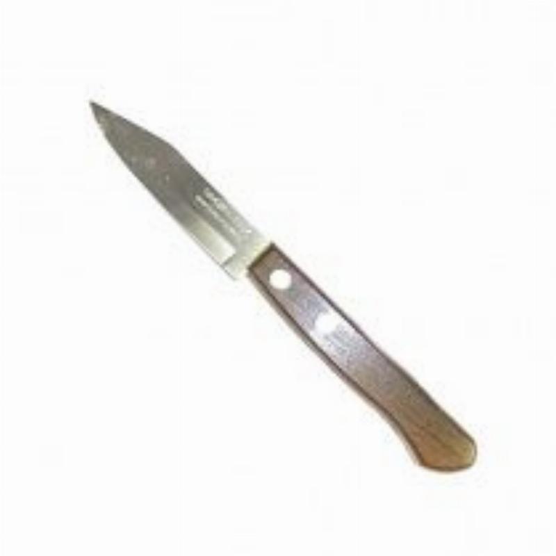Нож кухонный 3 Трамантина для овощей дерев ручка нерж