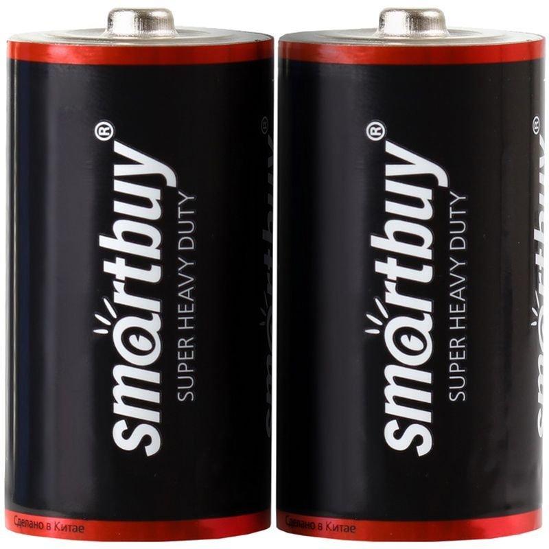 Батарейка SmartBuy D R20 солевая (цена за 1 шт)