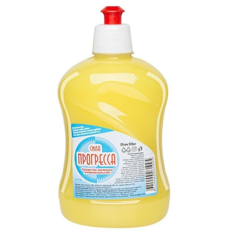 Средство для мытья Сила Прогресса/Clean Room 500мл универсальное