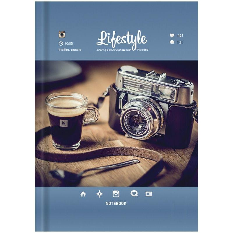 Записная книжка А6 160л Стиль Lyfestyle