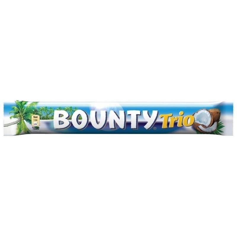 Шоколадный батончик Baunty Trio 82.5г