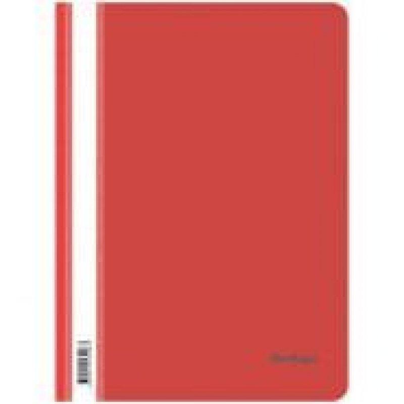 Папка с прозрачным верхним листом Berlingo 180мкм красная