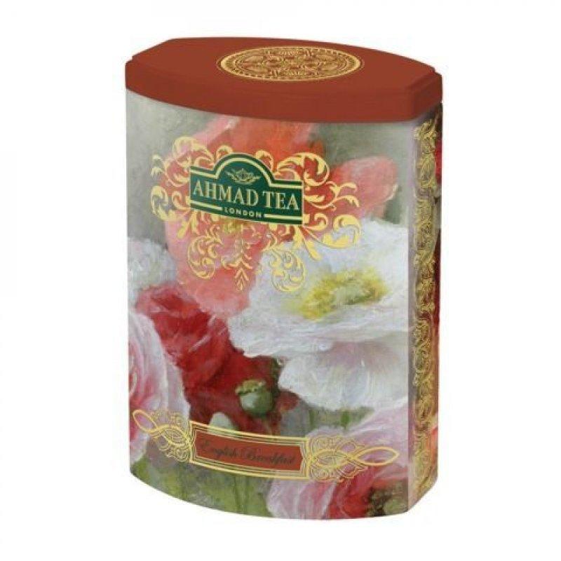 Чай Ahmad English Breakfast листовой 100г жестяная банка