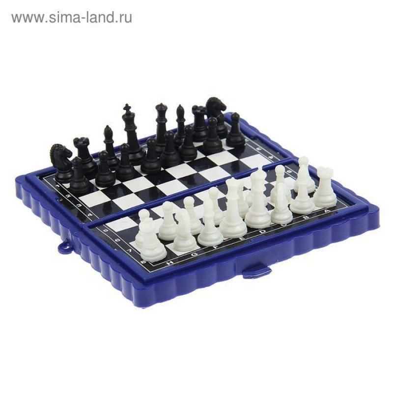 Шахматы настольные мини 9 × 9 см