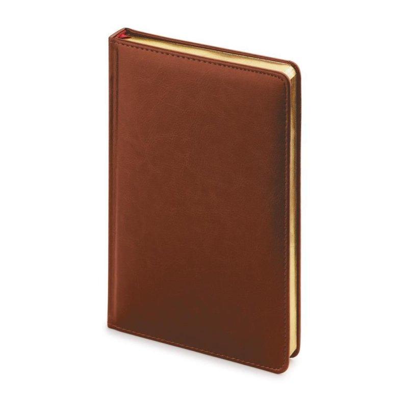 Ежедневник A4 недат Sydney Nebraska коричневый
