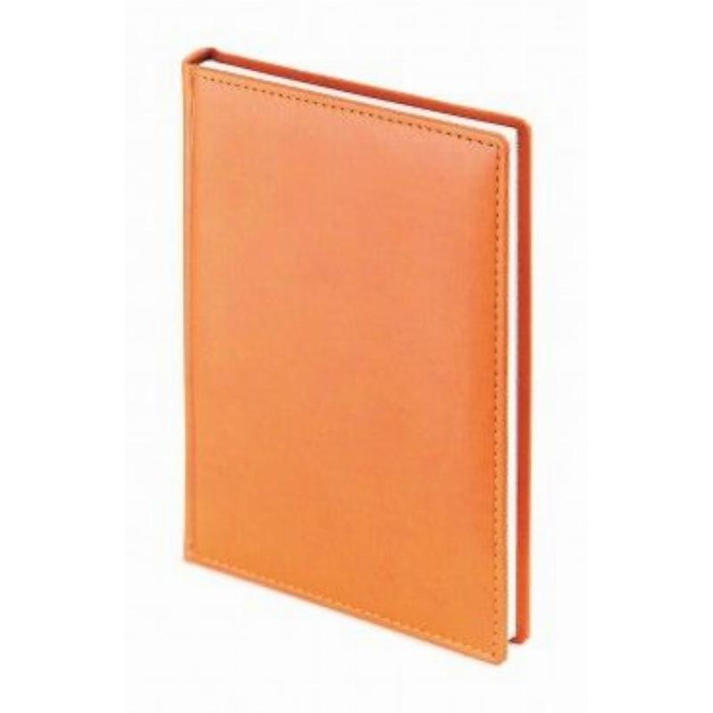 Ежедневник А5 недат Velvet оранжевый